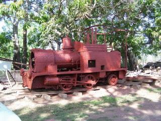 Burdekin Machinery Preservationists (Sugar cane loco, mid-restoration)
