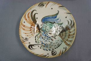 Rooster Plate - Heidi